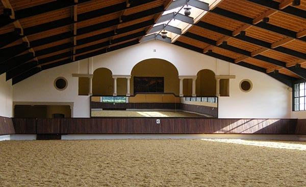 Arena Mirrors for Horse Arenas - Footing Solutions USA