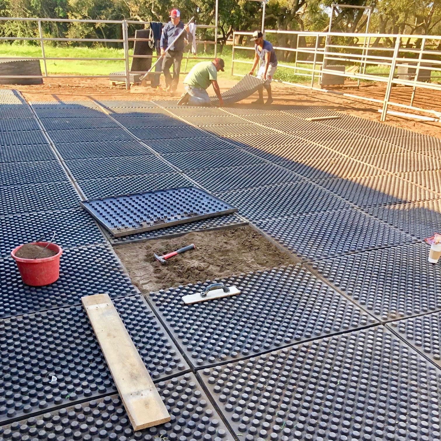 mats installation